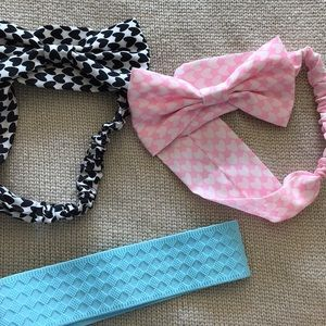head band pack of 3